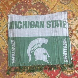 Michigan State Wrap/scarf. Excellent like new cond